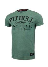 Футболка Pitbull Basic Premium Denim Washed Oldschool